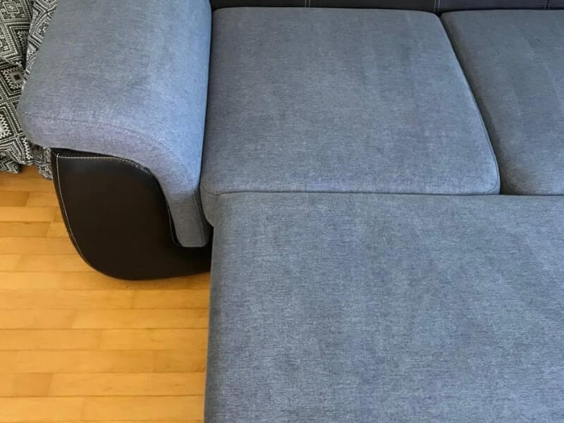диван-кровать после чистки