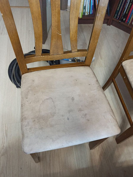 стул до чистки