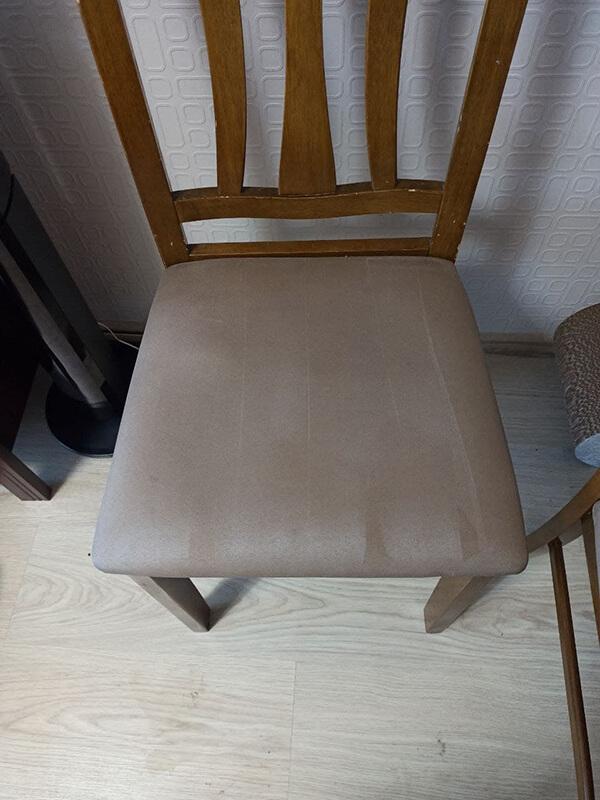 стул после чистки
